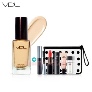VDL Real Skin Foundation Summer Vacance Kit 6items [August 2017 Limited]